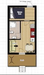 1 Bedroom Cottage Floor Plan