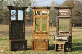 Old Door Coat Rack And Bench Custom DIY Door Entry Bench The OwnerBuilder Network