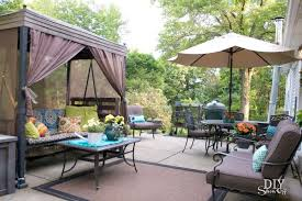 simple covered outdoor living spaces. Interesting Outdoor Outdoor Living Space And Patio Diyshowoff  In Simple Covered Outdoor Living Spaces H