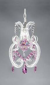 chandelier swarovski crystals pretty princess pink crystal shabby chic chandelier 1 light red swarovski crystal chandelier