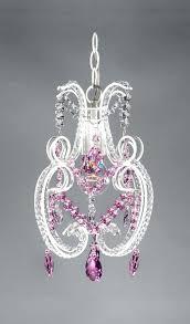 chandelier swarovski crystals pretty princess pink crystal shabby chic chandelier 1 light red swarovski crystal chandelier
