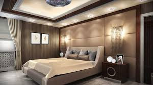 4 tags Art Deco Master Bedroom with Crown molding, Carpet, Ceramic Vase  With Short Neck And