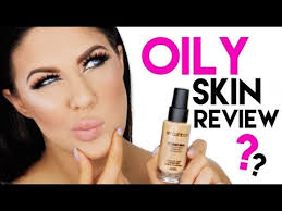 smashbox studio skin foundation for oily skin review 12 hour wear test