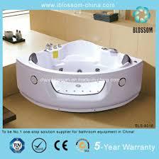 best ing small corner whirlpool massage steam bathtub bls 8018