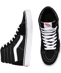 vans high tops black. vans sk8-hi sneakers black white sneaker | footwear clothing shop mens general pants online high tops