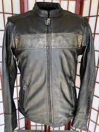 harley davidson willie g limited edition leather jacket vest medium 97157 17vm