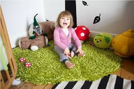 ikea hampen rug for kids