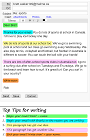 an email about sports learnenglish teens british council show check your
