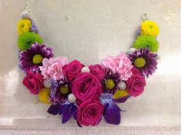 Image result for flower necklace