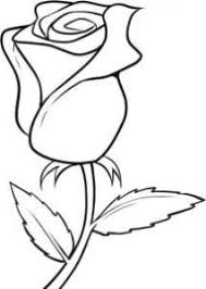 Easy To Draw Roses Easy Flowers To Draw Clipart Best Art Drawings Art Flowers