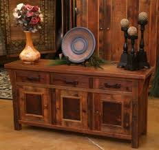 entry decorating in eclectic style using rustic sideboard buffet vanity barnwood furniture wooden sideboard furniture