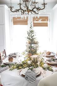 A Fresh Green Christmas Tabletop - Winter Tablescape