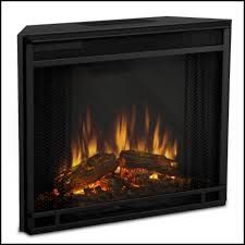 electric fireplace insert about household appliances fabulous fire form heater with mantle outdoor gas pit black