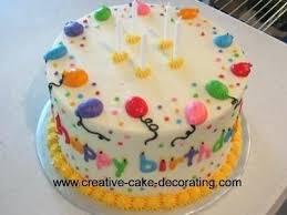 Balloon Birthday Cake Images Cakes Decorating Ideas Simple Google