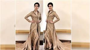 taapsee pannu s trench coat inspired outfit reminds us of priyanka chopra s met gala 2017 ensemble