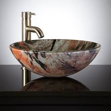 jupiter glass vessel sink