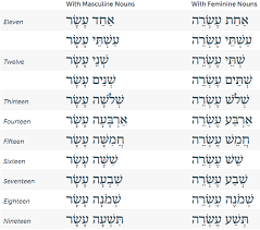 The Basics Of Hebrew Numbers Zondervan Academic