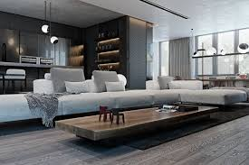 Definition Of Texture In Interior Design A Modern Flat With Striking Texture And Dark Styling