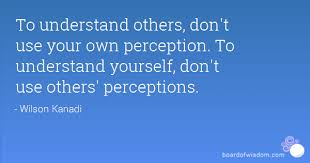 Image result for perceptions of others