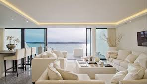 coffer lighting. This Living Room Has A Light Coffer To House An LED Strip For Soft, Warm Effect. Lighting E