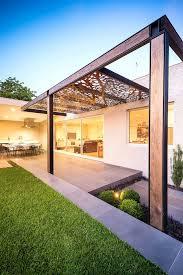 pergola outdoor modern ideas decorate