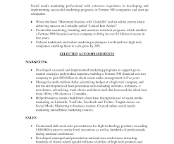 Professional Resumes Social Media Marketing Resume Sample Junior
