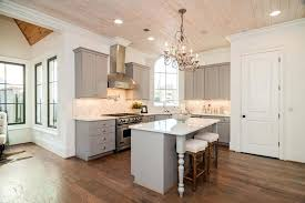 small kitchen layouts with island small gray cabinet contemporary kitchen with breakfast bar island and chandelier