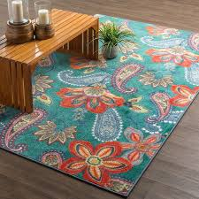 charlton home swansville green orange area rug reviews wayfair in and teal plans 14