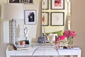 incredible pink office desk beautiful home. Cute Office Decor Ideas. Fill Your Desk With Stuff You Love And Put A Little Incredible Pink Beautiful Home O