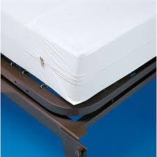 zippered mattress protector. Invacare Zippered Hospital Bed Size Mattress Covers - INVMC0195 Zippered Mattress Protector