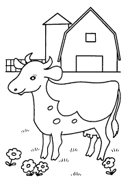 Small Picture Cow Coloring Page Free Cow Coloring Pages Exciting Cow Coloring