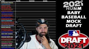 2021 MLB Mock Draft: All 29 First Round ...