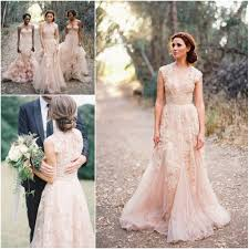 Custom Made V Neck Lace Wedding Dresses 2017 Puffy Bridal Gowns Dresses For Garden Wedding