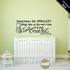 nursery wall decal quote winnie the pooh smallest by wallstickums on wall decal quotes for nursery with nursery wall decal quote winnie the pooh smallest by wallstickums