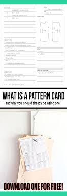 Sewing Pattern Storage Simple Decorating Design