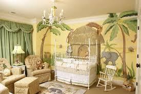 jungle neutral baby room ideas