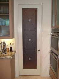 etched glass pantry door cross hatch a photo on custom