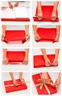 Как красиво упаковать подарок в коробке в подарочную бумагу