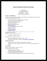 Receptionist Resume Examples Receptionist Resume Examples Alexa Receptionist Sample cover letter 99