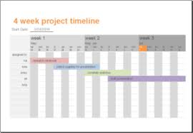 8 Project Timeline Templates For Word Excel Templateinn