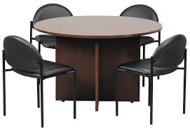 table and chairs top view. Office Table Round. Used Furniture Round And Chairs Top View L
