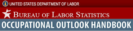 Image result for bureau of labor statistics occupational outlook handbook
