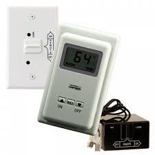 Shop | Skytech TS/R-2 Wireless Wall Mounted Thermostat Fireplace ...