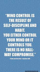 Learn Self Control Discipline Quotes