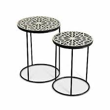 rockvale stone top round coffee table by greyson living pic exclusive adrianna round nesting tables by greyson living