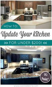 Cheap Kitchen Counter Makeover Best 278 Giani Granite Countertop Paint Images On Pinterest