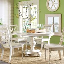dining tables distressed round dining table rustic dining table set circle wooden table with four