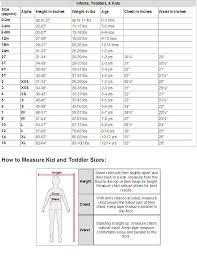 Okie Dokie Size Chart Okie Dokie Shoe Size Chart