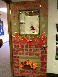 christmas classroom door decorations. Stockings On A Class Door. Christmas Classroom Door Decorations S
