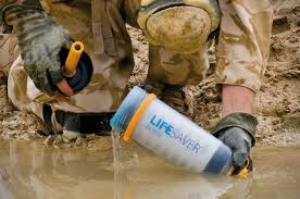 portable water filter system. LifeSaver Portable Water Filtering Bottle System - Clean And Filetr Your On The Go Filter L